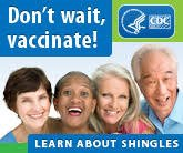 Shingles vaccination awareness