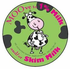 MOOve to 1% Milk and/or Skim Milk